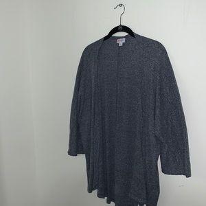 LULAORE - Blue/Gray Lindsay Kimono